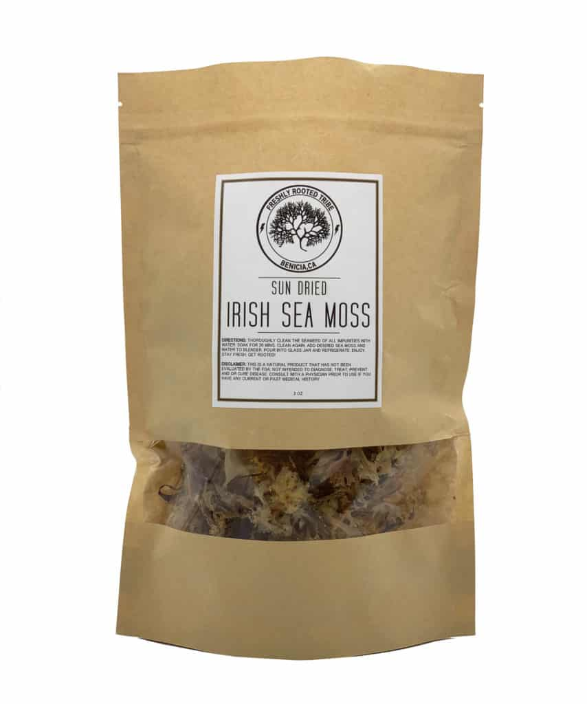 Sun Dried Irish Sea Moss Packet